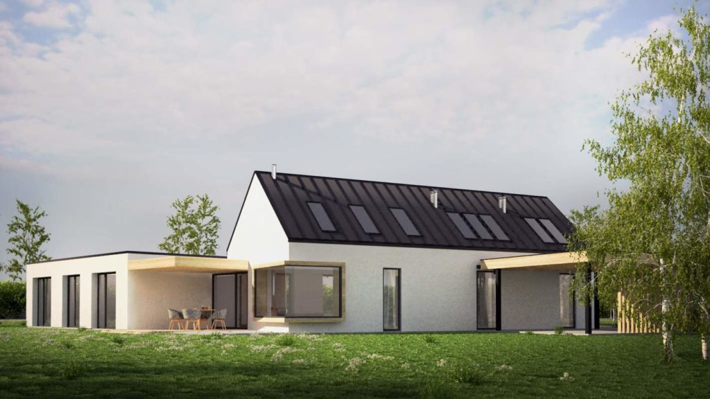 wizualizacja dachu