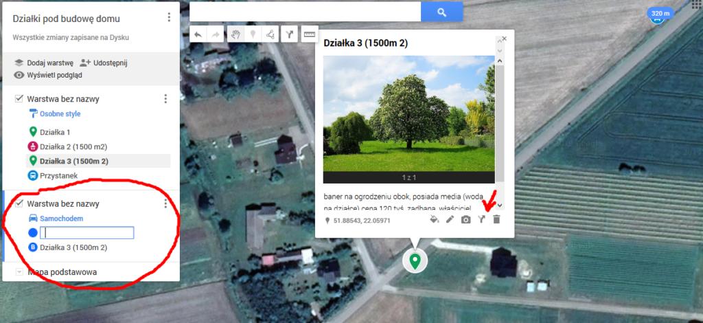 Przydatne narzędzia Google Maps