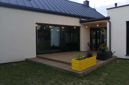 dach w domu jednorodzinnym