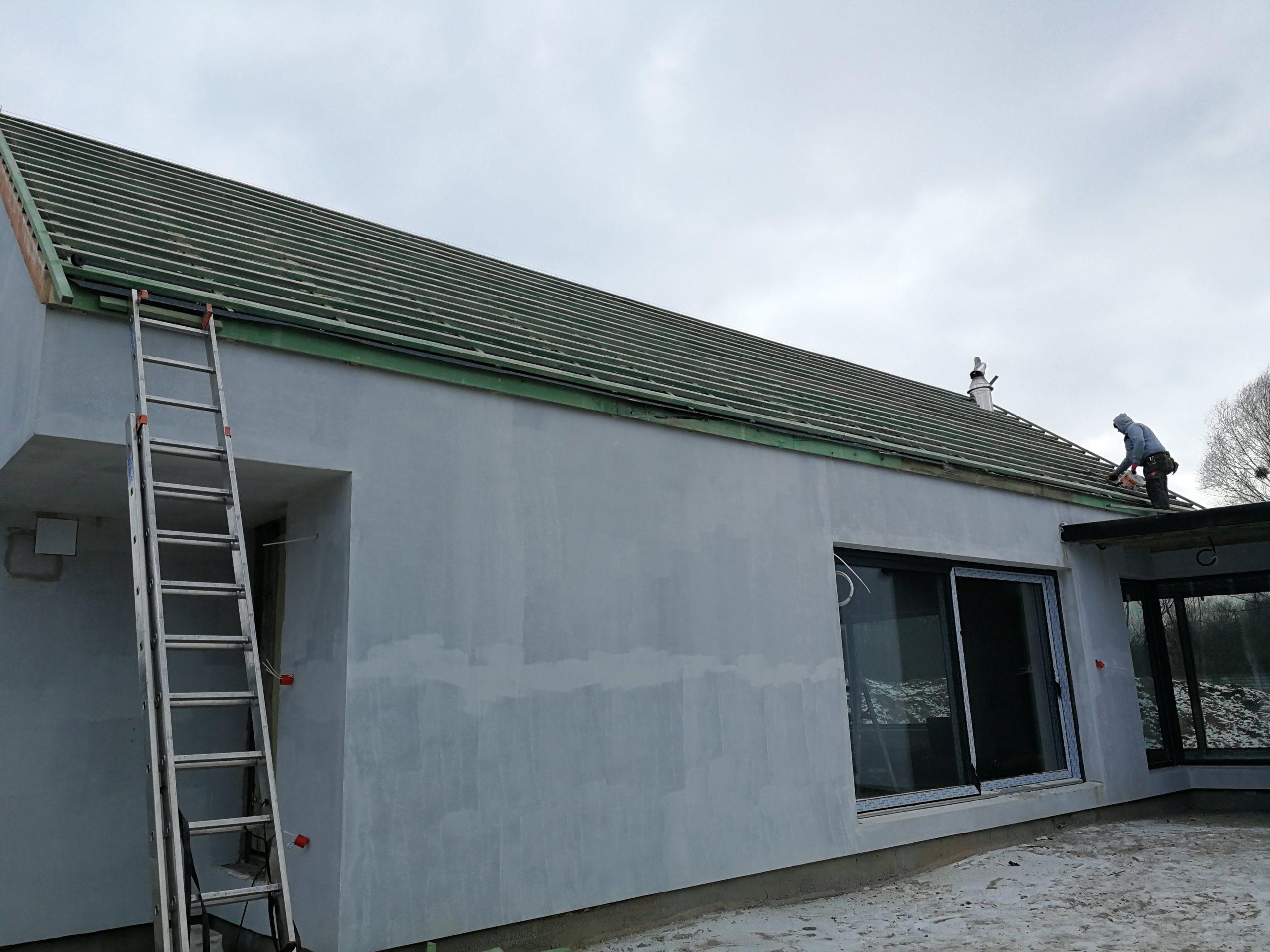 łacenie dachu